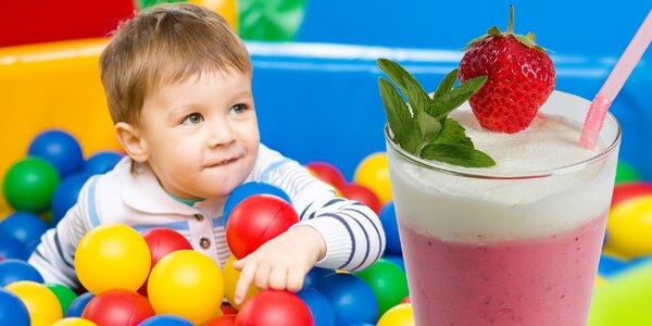 Vstup a občerstvení v dětské kavárně Žirafka