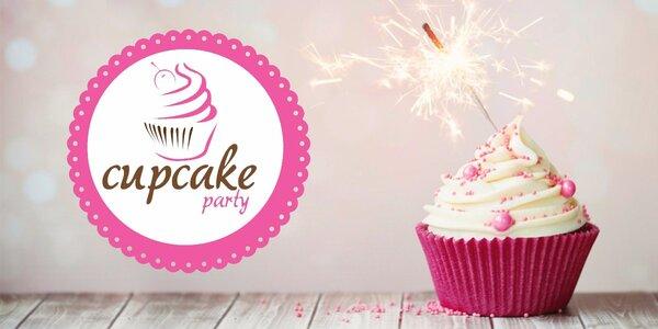 Zábavná dětská cupcake party