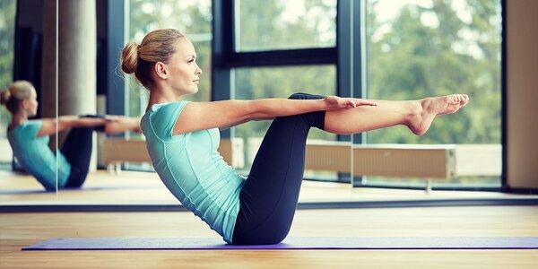 5 vstupů na lekce pilates
