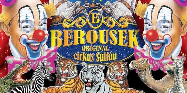 Vstupenky do slavného cirkusu Berousek