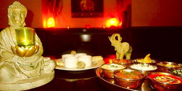 Indie na talíři: Degustační menu pro dvě osoby