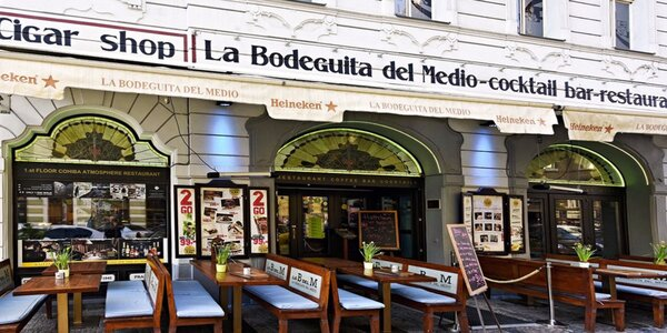 6chodové menu pro dva v La Bodeguita Del Medio
