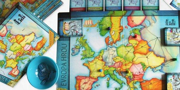 Evropa hrou