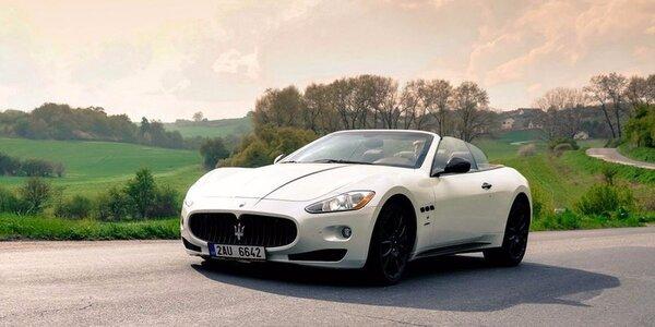 Jedinečná jízda v Maserati GranCabrio