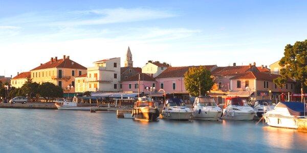 Prosluněná dovolená v severní Dalmácii