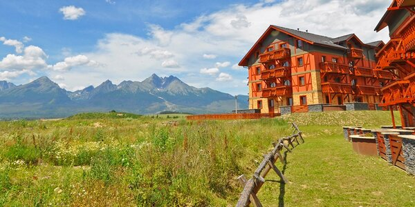 Letní zábava a relax v apartmánech v Tatrách