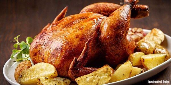 Středověká hostina – nadívané kuřátko na medu