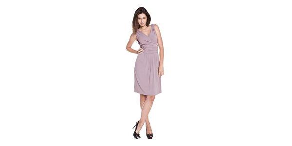Dámské šeříkové splývavé šaty Moschino Cheap & Chic