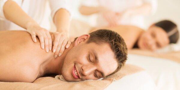Romantická masáž pro páry