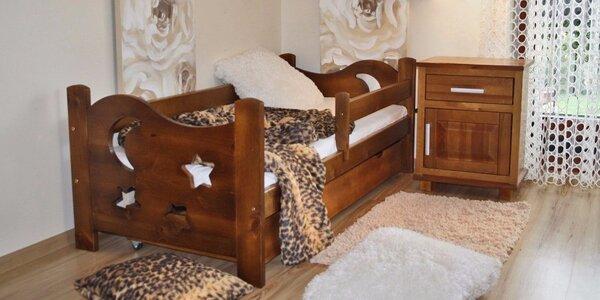 Dětské postele včetně matrace a roštu