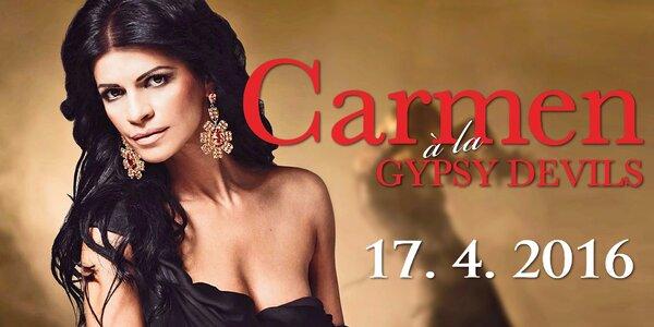 Vášnivá a nezkrotná Carmen podle Gypsy Devils