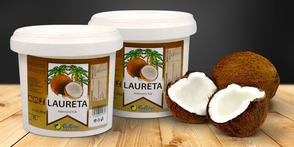 2 litry blahodárného kokosového oleje