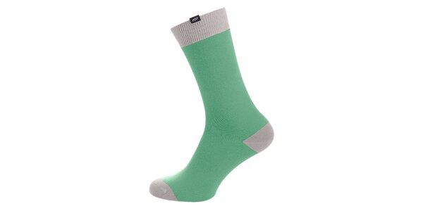 Dámské zeleno-šedé ponožky Minga Berlin - 3 páry