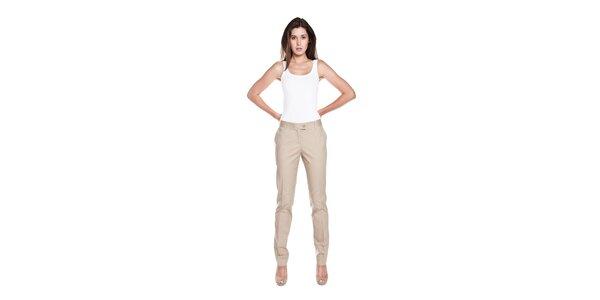 Dámské béžové kalhoty Moschino Cheap & Chic