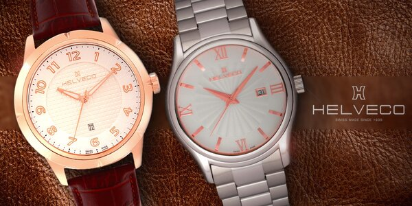 Luxusní švýcarské hodinky Helveco