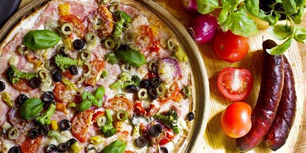 Vyberte si dvě pizzy podle svého gusta