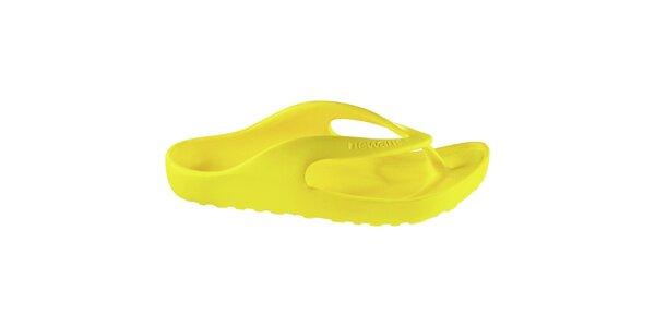 Žluté žabky Newalk