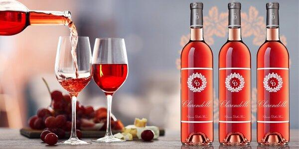 Špičkové růžové víno z Bordeaux