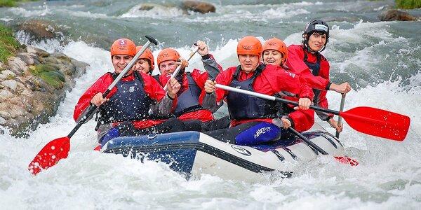Adrenalinový splav na Slovensku