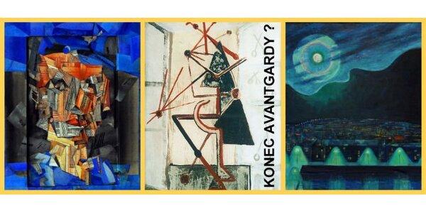 120 Kč za DVĚ vstupenky na výstavu Konec avantgardy? v Galerii hl. m. Prahy
