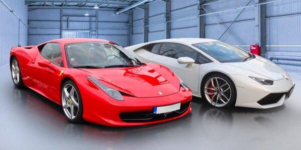 Jízda v Lamborghini nebo Ferrari
