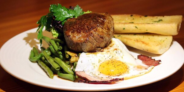 Steakové hody pro dva v restauraci Tulip