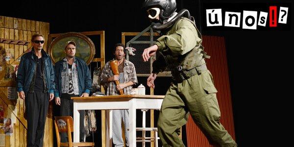 Vstupenka na divadelní představení Únos
