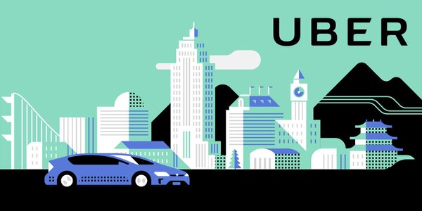 Sleva 450 Kč na tři jízdy s Uber