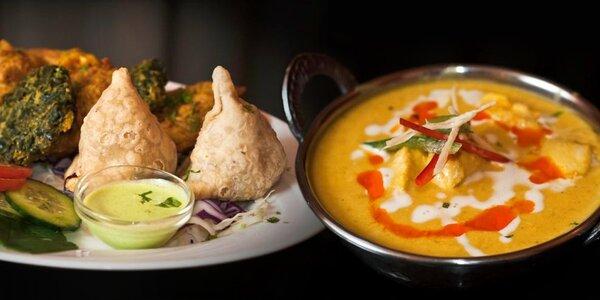 50% sleva do indických restaurací Masala