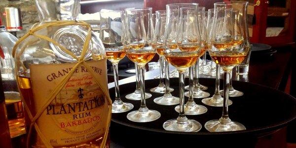 Řízená degustace 6 prémiových rumů ve Voroněži