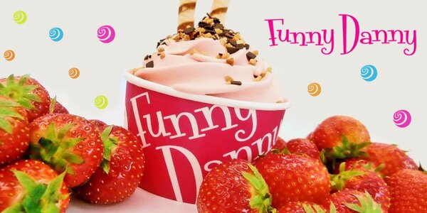 200g frozen yogurtu z Funny Danny