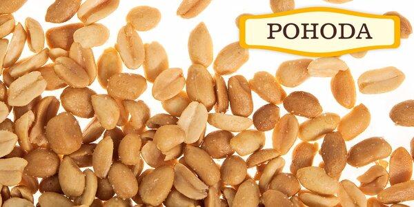 Půlkilové balíčky natural a ochucených ořechů