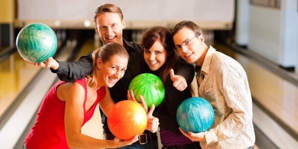 Hodina bowlingu až pro 6 hráčů