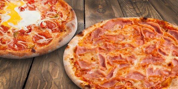 Dvě pizzy v Pizza Drive – 29 druhů na výběr