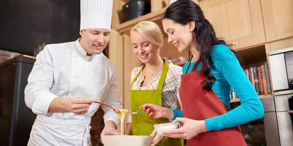 Kurz vaření se zkušenými kuchaři
