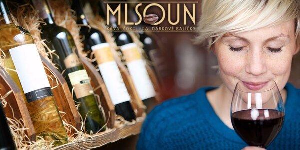 Degustace top moravských vín ve vinárně Mlsoun