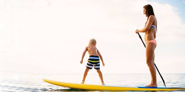 Zapůjčení paddleboardu na řece Opavě