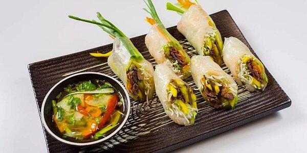 Nabitá vietnamská menu ve Štěpánské