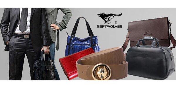 20% sleva luxusní kožené zboží Septwolves