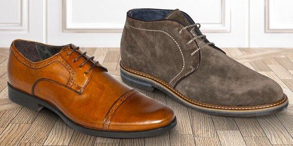 Luxusní pánská obuv z Toskánska