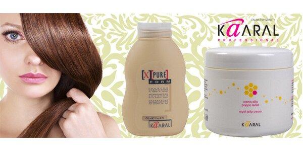 Italská vlasová kosmetika Kaaral