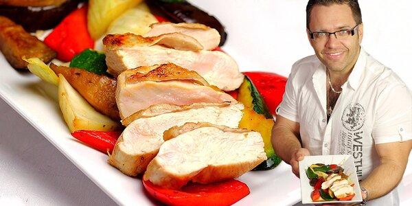 Dokonalý steak či Saláty: kurz u šéfkuchaře