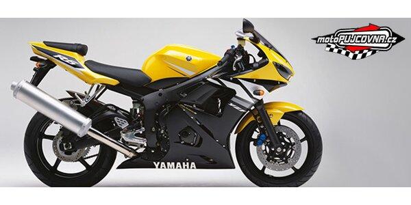 Zapůjčení japonského motocyklu na celý den (9-21 hod.)