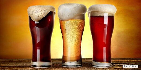 Zkuste 3 pivní speciály v hospůdce a pivotéce