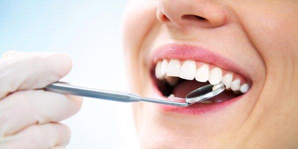 Dentální hygiena včetně ultrazvuku a air flow