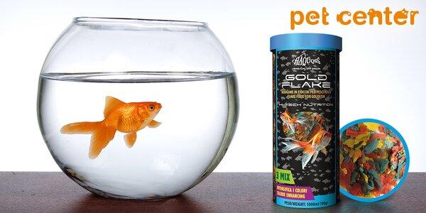 Krmivo Haquoss Gold pro studenovodní ryby