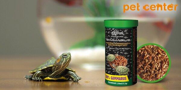 Krmivo Haquoss: Sušené krevety pro želvy