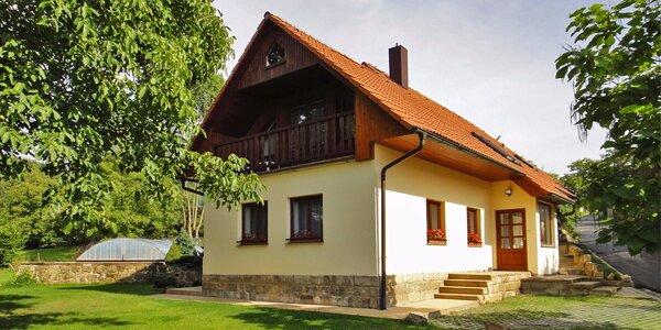 Odpočinek v Českém ráji na chalupě s bazénem