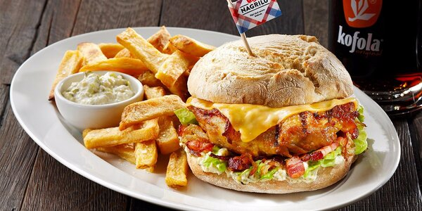 Skvostné kuřecí menu pro 2 v restauraci NAGRILU