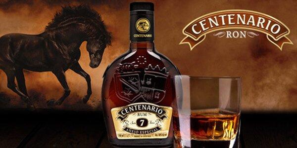 Sedmiletý rum z Kostariky Ron Centenario